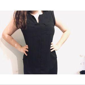 Women's Fancy Black Shirt